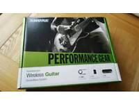 Shure PG16 guitar wireless