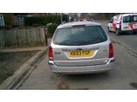 Ford Focus 1.8TDCi Estate Silver 169000 Miles.