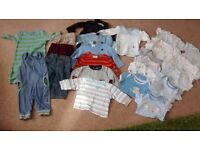 Boys 3-6 month clothes bundle