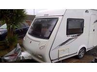 Elldis Xplore 302 2011 --- Lightweight Compact Caravan