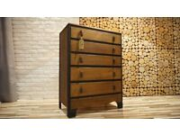 LEBUS 1960's CHEST OF DRAWERS,SIDEBOARD, VINTAGE ,RETRO, SHABBY CHIC (FREE DELIVERY)