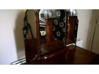 Vintage Dressing table with original mirrors