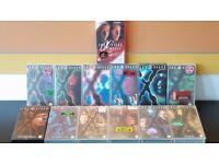 X-Files VHS Videos Set