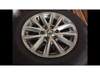 Mitsubishi L200 brand new alloy wheels and tyres