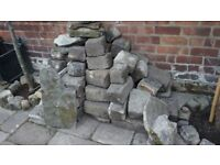 Reclaimed York stone sets