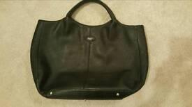 Genuine Tod's Black Leather Handbag