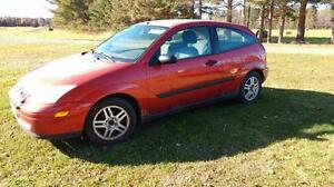 2000 Ford Focus ZX3 Coupe (2 door)
