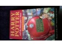 harry potter 1st hb book 28th print + free pb young wizard book 40th.
