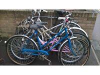 10 x old bikes for repair £110