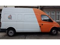 ONE MAN AND LARGE VAN. 07722050624