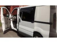vauxhall vivaro 2003 white van 12 month MOT cheap at £1800 must go today
