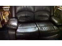 2x2 leather recliners
