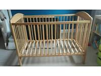 John Lewis Baby cot in solid wood