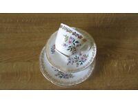 Pretty bone china tea trio. Royal grafton bone china.