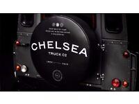 Spare Wheel Cover Chelsea Truck Company Logo Soft
