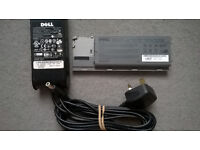 Laptop DELL Latitude D620 battery + charger