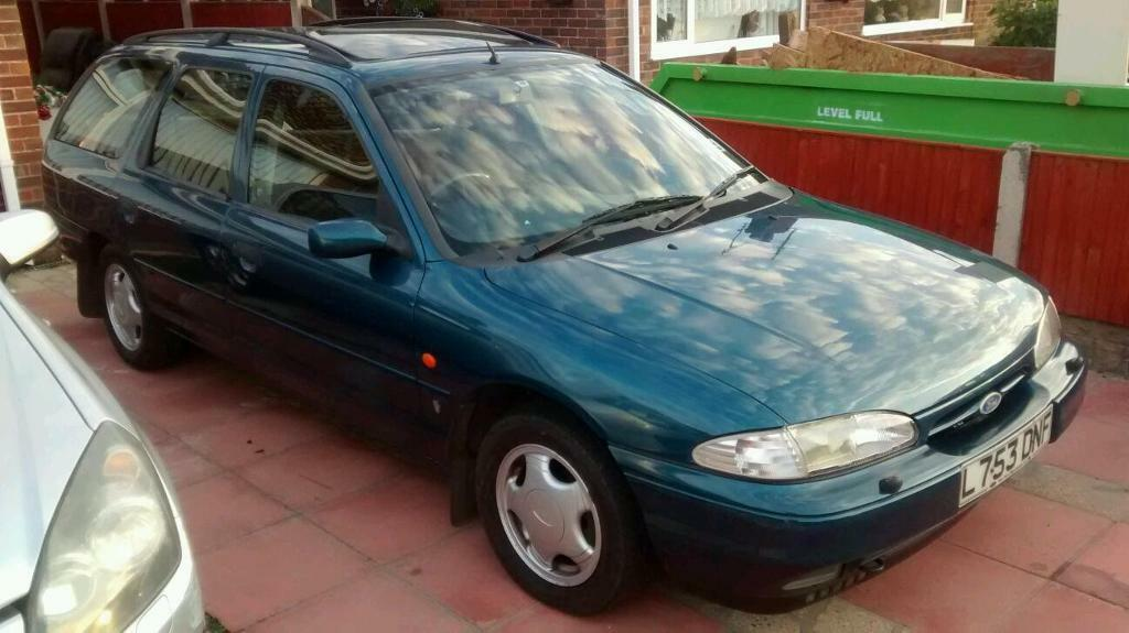 ford mondeo 2 0 1993 l reg last owner for 20 years moted till october d in hemsby norfolk. Black Bedroom Furniture Sets. Home Design Ideas