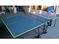 Kettler AXOS 3 Indoor Table Tennis Table - Grey *Ready Assembled* *Collection Only* *As New*
