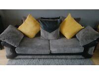 3+2 jumbo cord sofas