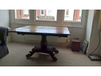 Drop leaf antique dining breakfast table
