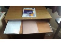 Table for Desktop With Key Board Drawer- 5£