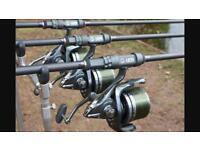 Century c2 carp fishing rods 3.25 tc x3 swap