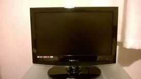 18 1/2 inch HD tv with built it dvd player
