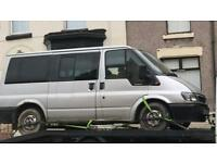 Transit 9 seater mini bus