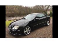 Mercedes CLK320 CDI Sport Auto , Amg , Diesel 40mpg ,Black