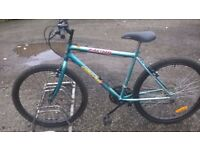 GENTS oscar racing MOUNTAIN BIKE 19 INCH FRAME 26 INCH ALLOY WHEELS 18 SPEED