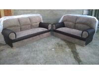 Sofas 3 & 2 Seaters Brand New! Can deliver.