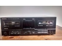Technics RS X302 double cassette deck *not tested*