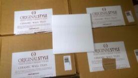 """Original Style Ceramic Field Tile Brilliant White A9000 (6"""" x 6"""")"""