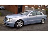 Mercedes-Benz S Class 3.2 S320 SERVICE HISTORY, LONG MOT, SATNAV, WARRANTY