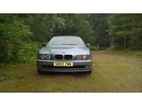 BMW 525i 2002 MOT failure