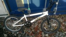 ZINC BACKBONE 20 INCH BMX BIKE. Excellent Condition £50ono. Can be Delivered for Extra or Collected.
