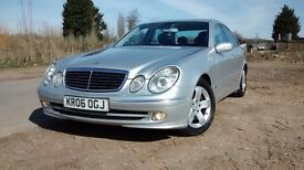 MERCEDES E280 CDI 3.0 AVANTGARDE AUTO (Silver) Beautiful drive clean car
