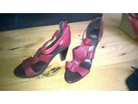 ladies shoes and boots with heels size 8