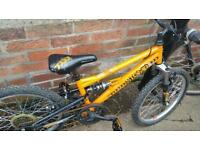 Kids STOMP full suspension mountain bike ..