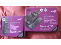 BT Synergy 2150 Digital Cordless Telephone Answering Machine + Additional Handset/Charger