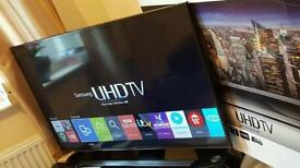 "Samsung 48"" 4K UltraHD SMART LED 2160p ULTRASLIM USB Immaculate condition LIKE NEW"
