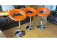 Kitchen Bar Stools Faux Leather