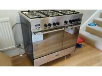 Delonghi twin capacity, dual fuel cooker
