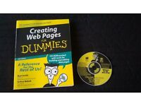 Creating Web Pages for Dummies Book and CD