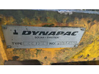 Dynapac double roller