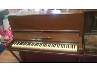 Ernest Kaps 1904 upright piano