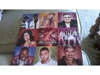 Signed XFactor tour book 2016
