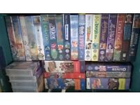 Over 100 Miscs Vhs Tapes £10 FOR COLLECT ONLY !!