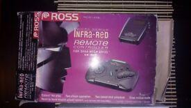 Sega Megadrive Infra Red Remote Controller Ross Mirco Genius