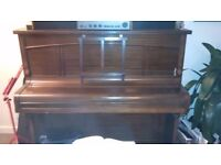 Free Newman & Sons Upright Piano For Collection In Lewes